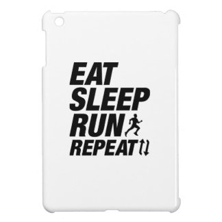 Eat Sleep Run Repeat iPad Mini Cases
