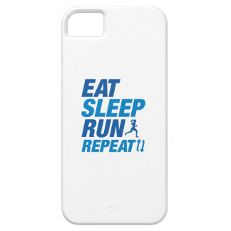 Eat Sleep Run Repeat iPhone 5 Case