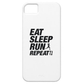 Eat Sleep Run Repeat iPhone 5 Cover