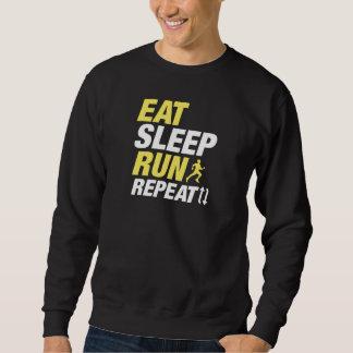 Eat Sleep Run Repeat Sweatshirt