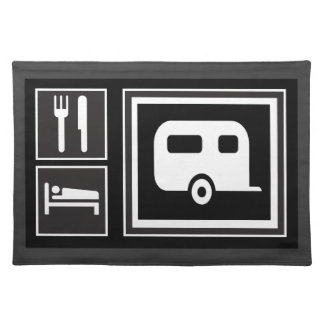 Eat. Sleep. RV! Placemat