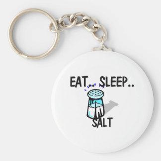 Eat Sleep SALT Keychain