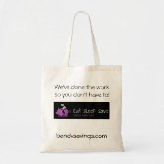 Eat Sleep Save Bag