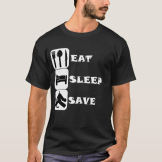Eat Sleep Save Hockey T-Shirt