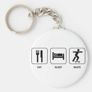 Eat Sleep Skate Keychain