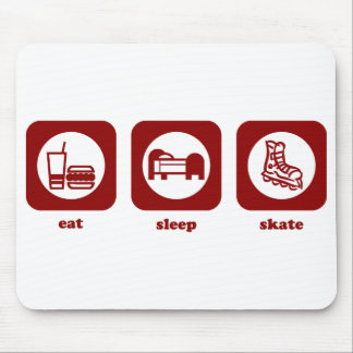 Eat. Sleep. Skate. Mousepad