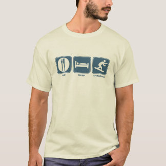 eat, sleep, snowboard T-Shirt