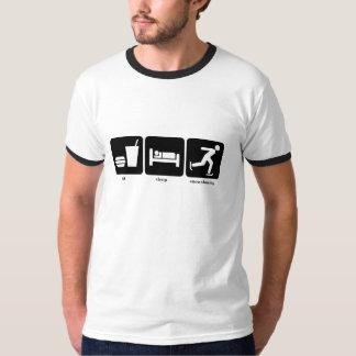 eat sleep snowshoeing T-Shirt