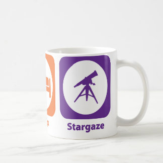 Eat Sleep Stargaze Coffee Mug