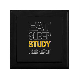 Eat sleep study repeat gift box