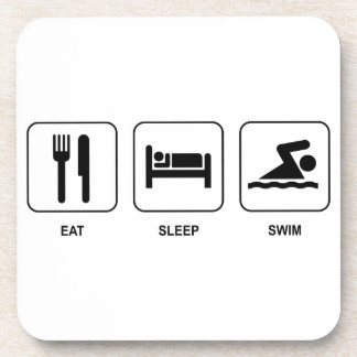 Eat Sleep Swim Coaster