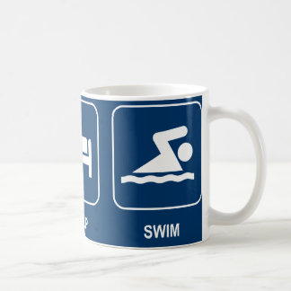 Eat Sleep Swim Mug