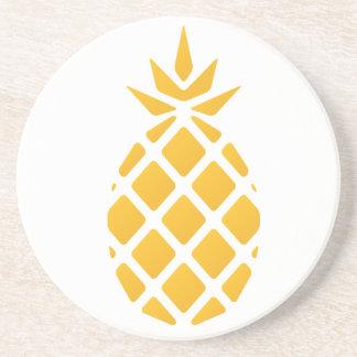 eat sleep swim pineapple coasters