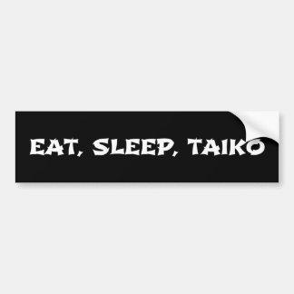 Eat, Sleep, Taiko Bumper Sticker