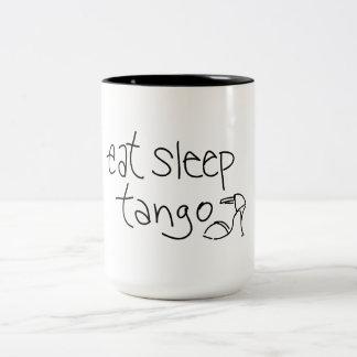 Eat Sleep Tango Coffee Mug