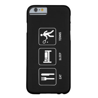 Eat Sleep Tennis Barely There iPhone 6 Case