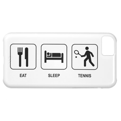 Eat Sleep Tennis iPhone 5C Cases