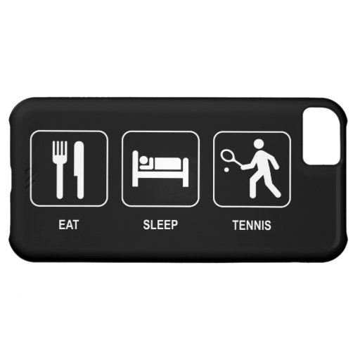 Eat Sleep Tennis iPhone 5C Covers