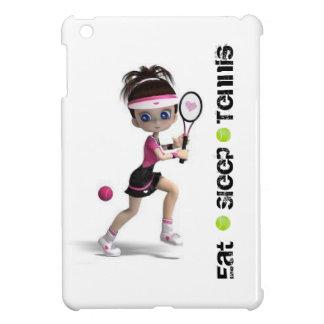 Eat, Sleep, Tennis, Girl Cover For The iPad Mini