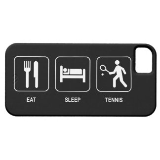 Eat Sleep Tennis iPhone 5 Case