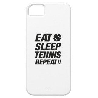 Eat Sleep Tennis Repeat iPhone 5 Covers