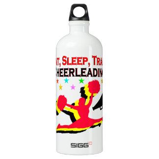 EAT, SLEEP TRAIN CHEERLEADING RED DESIGN