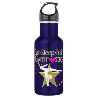 EAT SLEEP TRAIN GYMNASTICS DESIGN