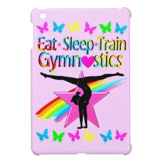 EAT SLEEP TRAIN GYMNASTICS RAINBOW DESIGN CASE FOR THE iPad MINI