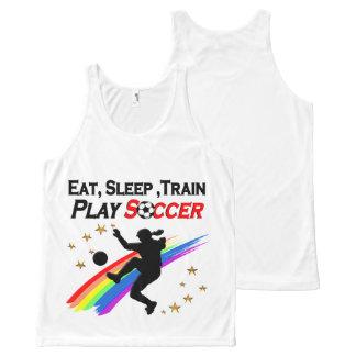 EAT, SLEEP TRAIN PLAY SOCCER ALL DAY LONG