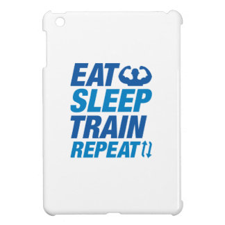 Eat Sleep Train Repeat iPad Mini Cover