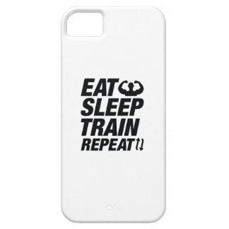 Eat Sleep Train Repeat iPhone 5 Cases