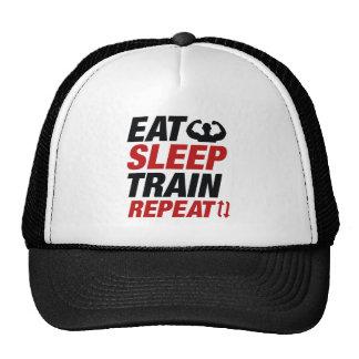 Eat Sleep Train Repeat Trucker Hat