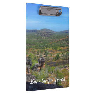 Eat Sleep Travel Arnhemland clipboard