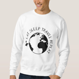 Eat Sleep Travel Repeat Sweatshirt
