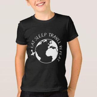 Eat Sleep Travel Repeat T-Shirt