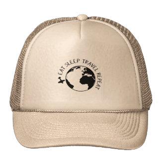 Eat Sleep Travel Repeat Trucker Hat