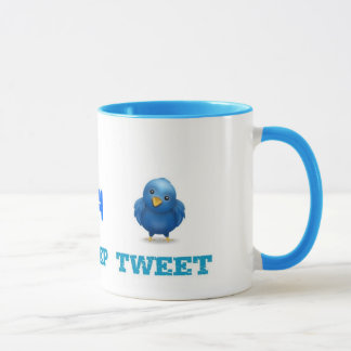 Eat Sleep Tweet Mug
