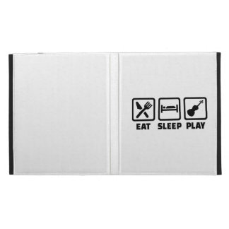 Eat Sleep Violin Fiddle iPad Folio Cases