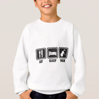 Eat Sleep Violin Repeat Sweatshirt