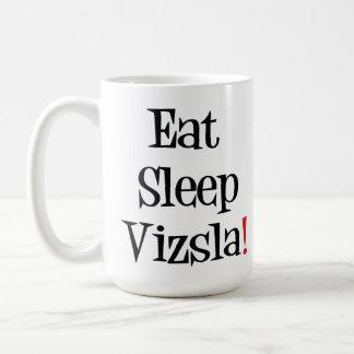 Eat Sleep Vizsla Mug