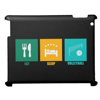 Eat Sleep Volleyball Cover For The iPad