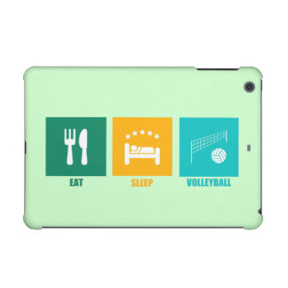 Eat Sleep Volleyball iPad Mini Retina Case