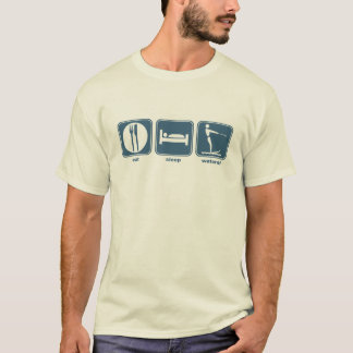 eat, sleep, waterski T-Shirt