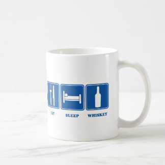Eat Sleep Whiskey Coffee Mug