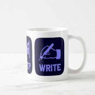 Eat Sleep Write Coffee Mug