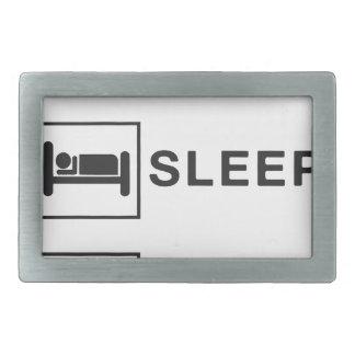 Eat Sleep Yoga Belt Buckles