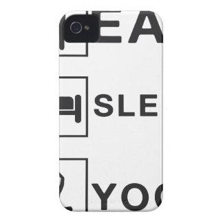 Eat Sleep Yoga Case-Mate iPhone 4 Case
