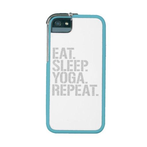 Eat Sleep Yoga Repeat iPhone 5/5S Cover