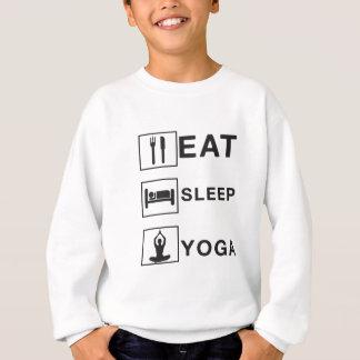 Eat Sleep Yoga Sweatshirt