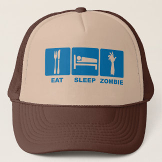 Eat Sleep Zombie Hat $17.95 (11 colors)